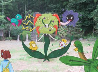 [Pokemon] Togepii tries a Raid Battle