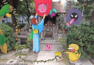 [Pokemon] Decorating for the Flora Festival