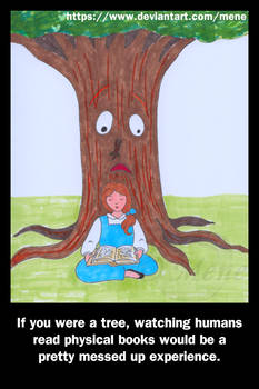 If you were a tree...
