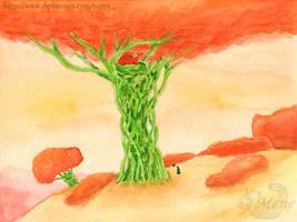 [Moonplanet] Dweldragon-tree, Raven and Krone