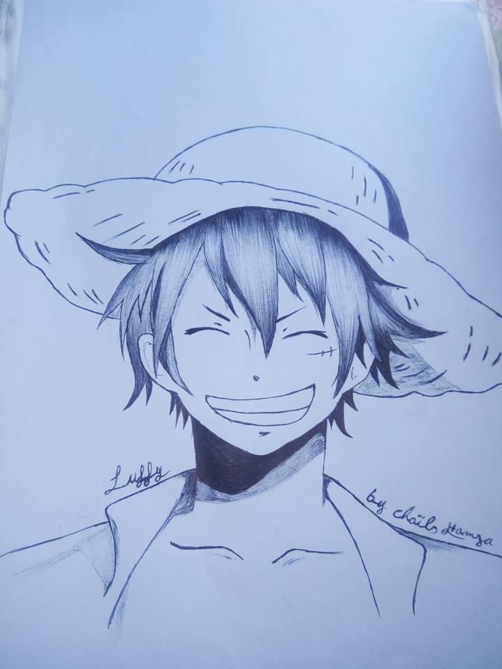 One Piece_luffy by zikostras