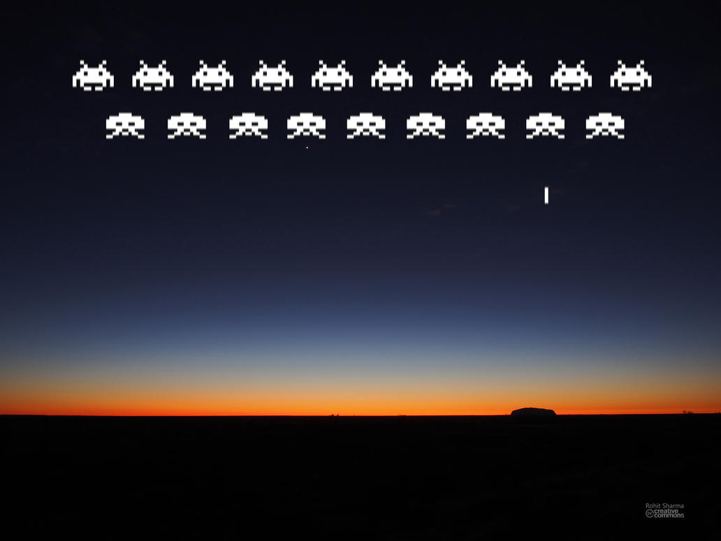 Space Invaders by rohit-orAnge