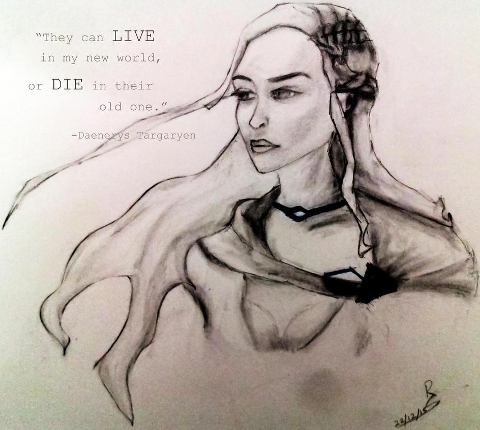 Khaleesi by rohit-orAnge