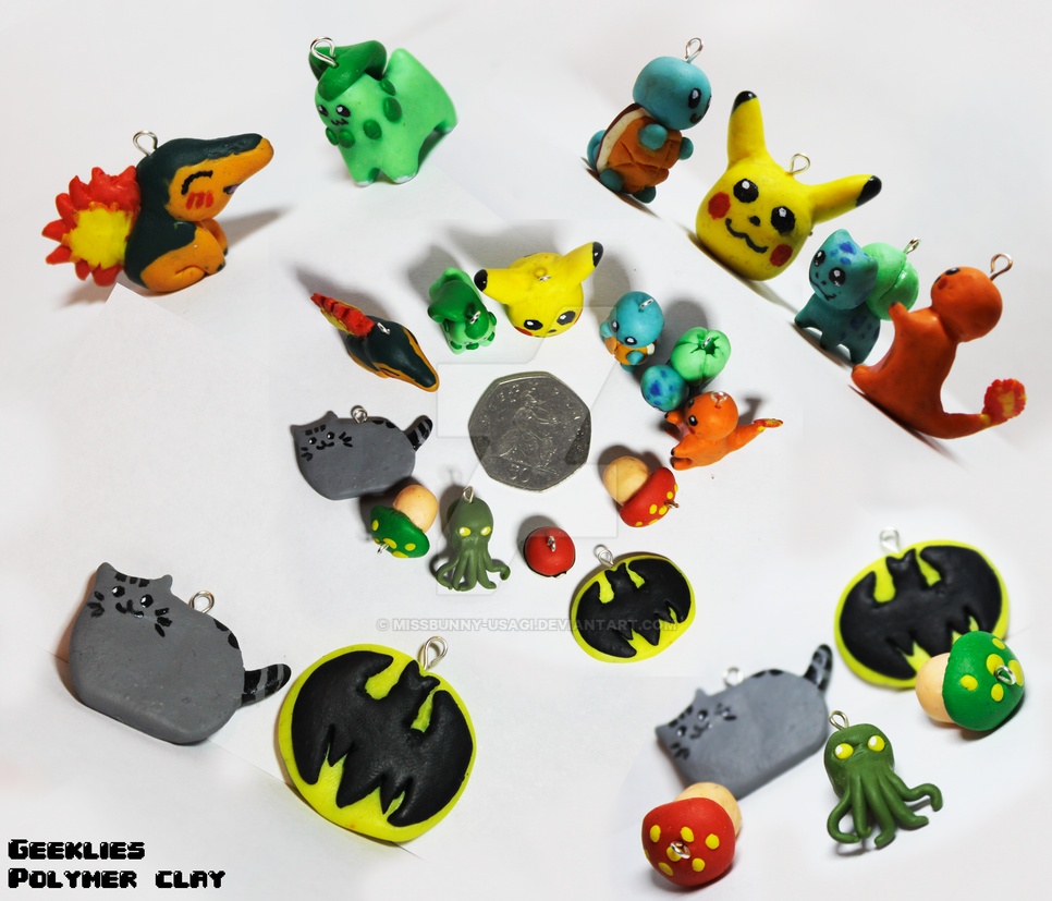 Polymer clay compilation by MissBunny-Usagi