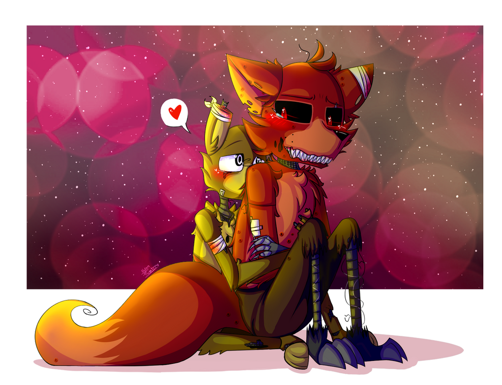 we take care of each other (fnaf ship) by kate-painter