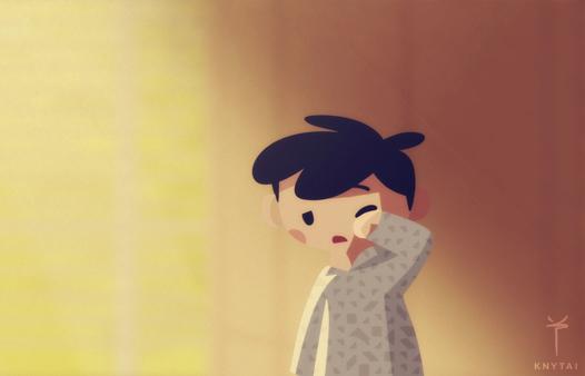 Hello, Monday by knytai