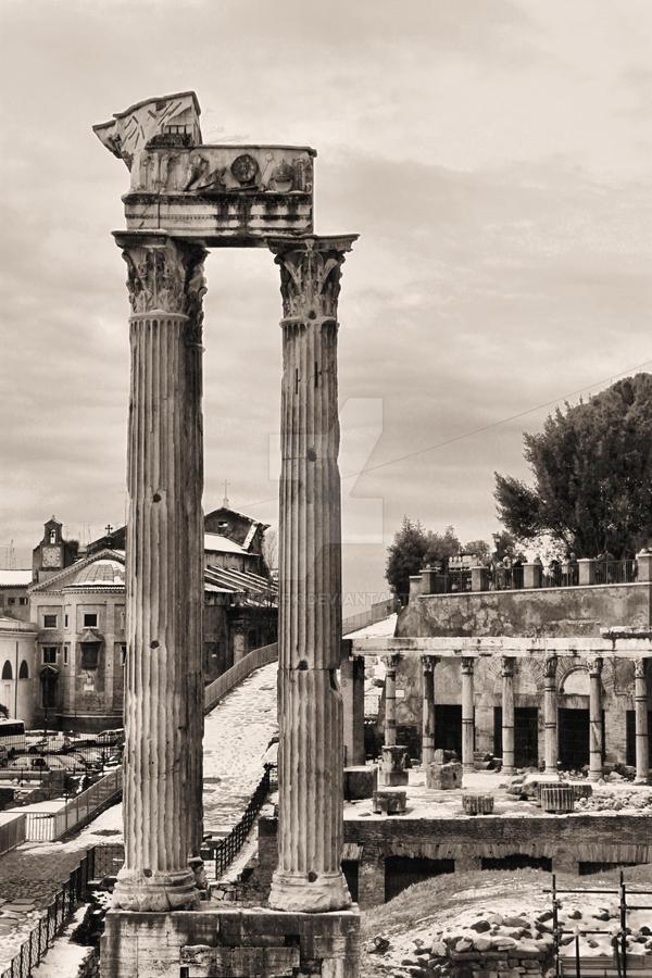 Forum Romanum 13 by mwilczek