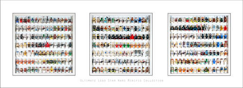 Ultimate Lego Star Wars Minifig Collection... by Artamir78
