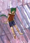 midori neko by lona-green-butterfly