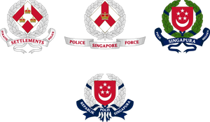 Badges of the Singapore Police Force by SemperEadem-SG