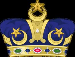 Heraldic Crown of Johor by SemperEadem-SG
