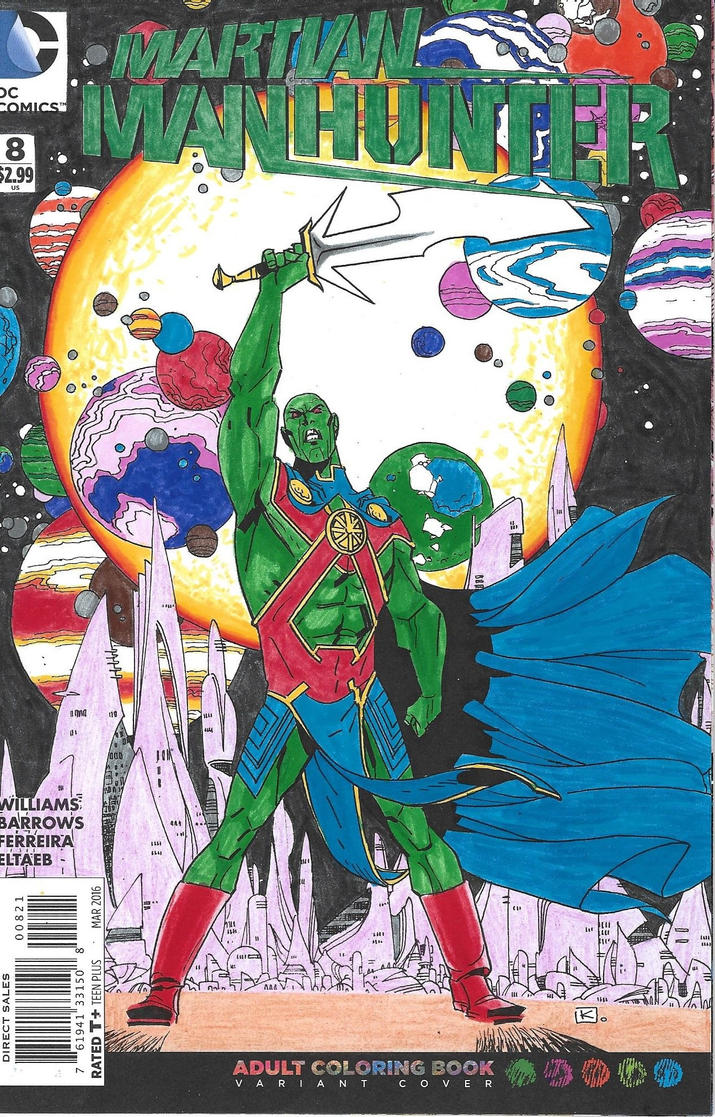 Martian Manhunter by Thedude32