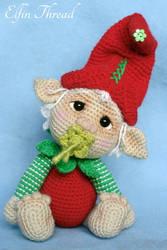 Elfin Thread - Gribin, the baby ELf by ElfinThread