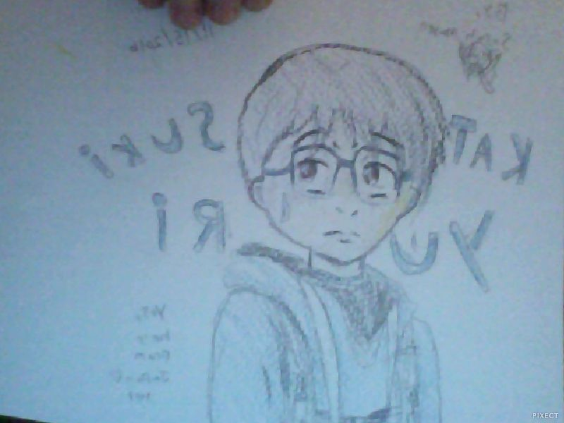 Yuri Katsuki ( drawing ) :3 by sailormoonepicfan