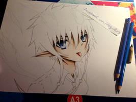 Wip: Female Rin Okumura ([ Ao no Exorcist ])