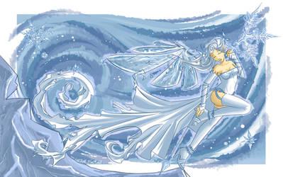 Snow Fairy by Kyatia