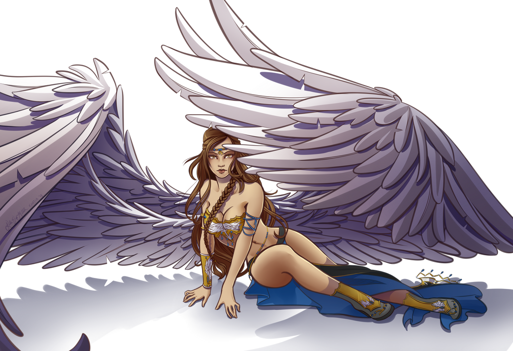Commission - SeraphAlexa - Galael by Kyatia