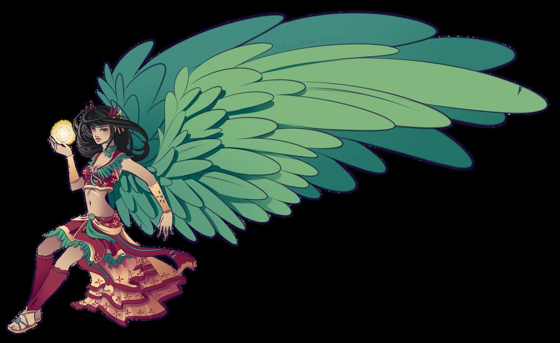 Commission - Aeraellyth 3 by Kyatia