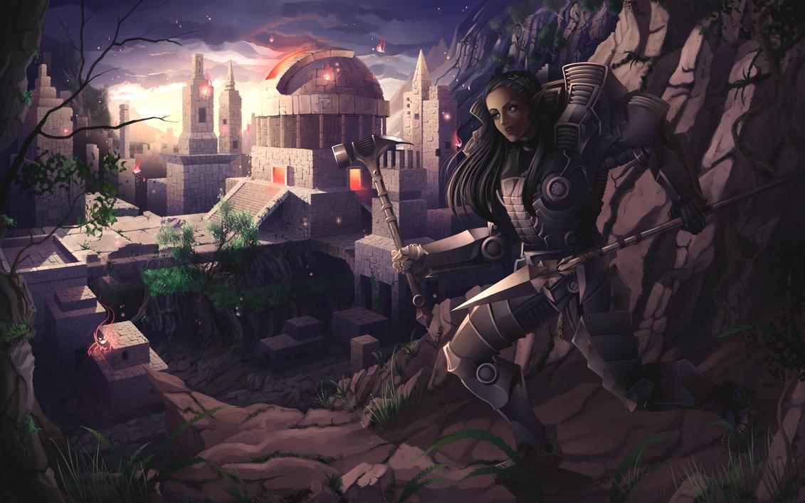 The Warrior by Kyatia