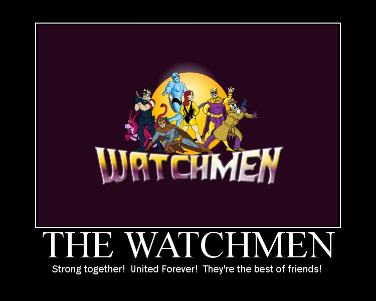 The Watchmen by daveshan