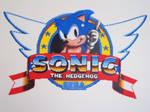 Sonic 1 Title Logo Bead Sprite