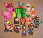 Mario Bead Sprite Grouping