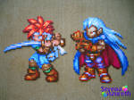 Chrono and Magus Bead Sprite