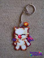 Mog Keychain Bead Sprite by SerenaAzureth