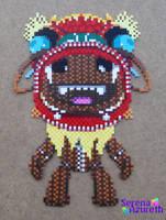 LittleBigPlanetSackboyBeadArt by SerenaAzureth