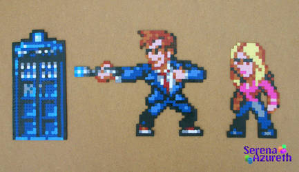 Doctor Who Bead Sprite Set 1