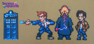 Doctor Who Bead Sprite Set 2