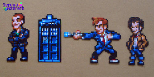 Doctor Who Bead Sprite Set 3