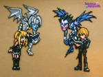 Death Note Bead Sprite Couple