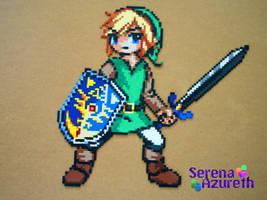 Link to the Past Bead Sprite by SerenaAzureth