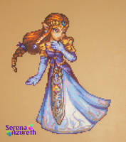 Princess of Hyrule Bead Sprite by SerenaAzureth