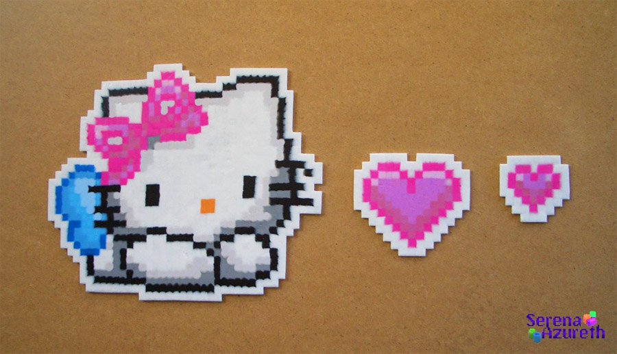 Hello Kitty Hearts Bead Sprite