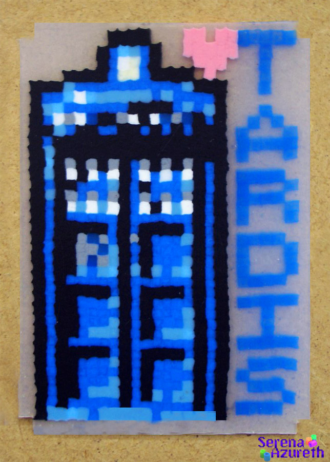 Doctor Who Tardis ATC