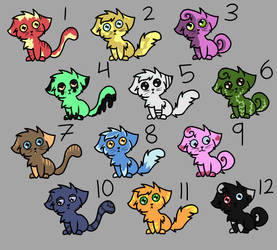 Lost Kitten 10 Point Adopts! 10/12 Open! by Lost---Girl