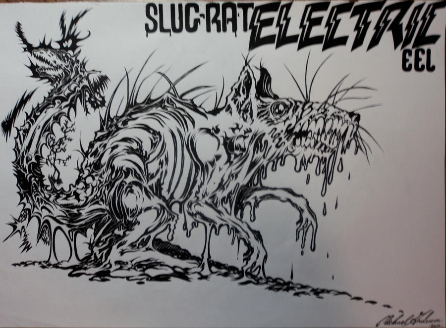 Evil Rats Drawing Genetic evils: slug-rat