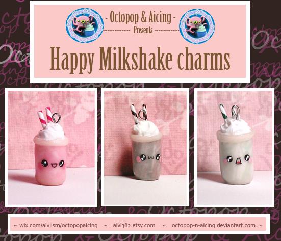 Happy Milkshakes by Octopop-n-Aicing