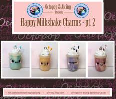 Happy Milkshake Charms pt. 2 by Octopop-n-Aicing