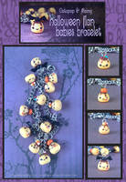 Halloween Flan Babies Bracelet by Octopop-n-Aicing