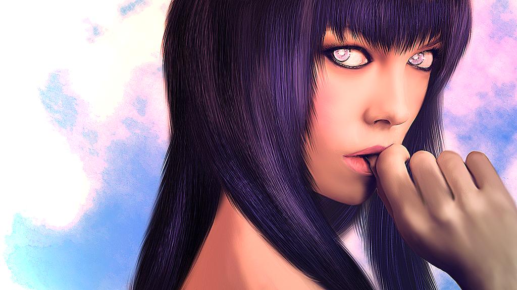 Hinata Hyuga - Passion by Calumbrae
