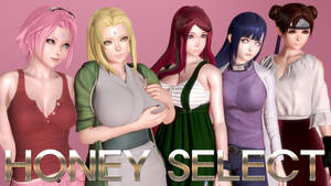 HONEY SELECT NARUTO FEMALE CHARACTERS!