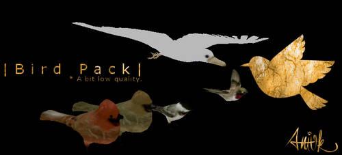 Bird Pack - Feral Heart Meshes