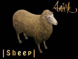 Sheep - FeralHeart Mesh by giddyfox