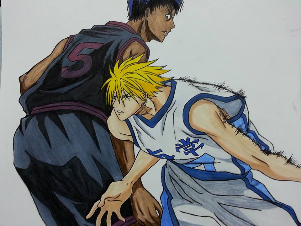 the gallery for gt aomine vs kise