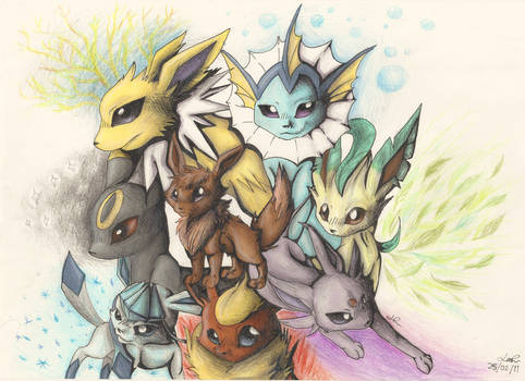 Attack, My Pretty Eeveelutions