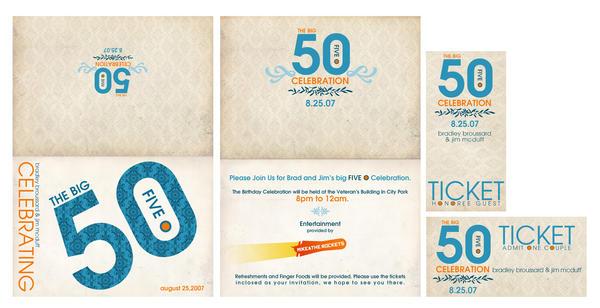 Tarjetas De Invitación Cumpleaños 50 Años Hombre Imagui