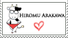 UPDATED-Hiromu Arakawa Stamp by rhr-forever